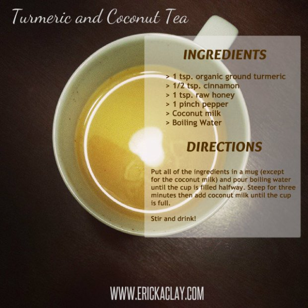 Turmeric and Coconut Tea