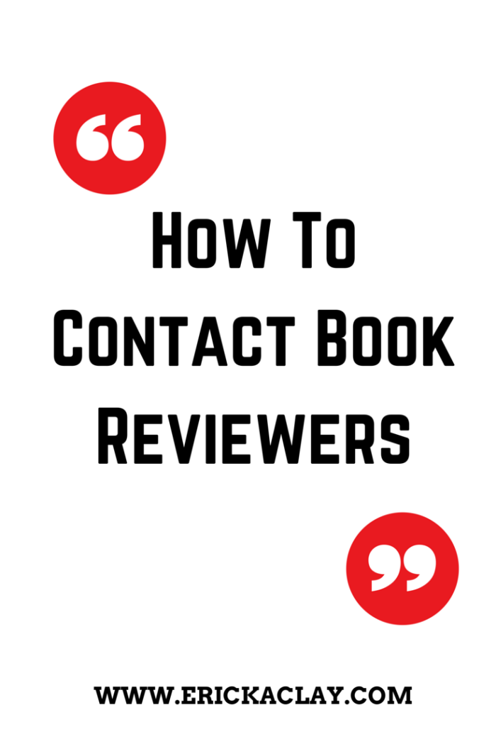 How to Contact BookReviewers